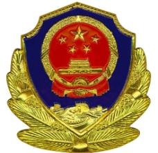 武警徽标图片