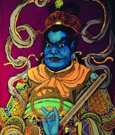 中国古代神话人物图片