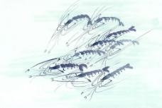 吉祥图案--鱼虾类图片