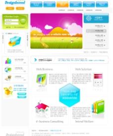 网站模板图片