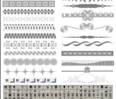 120漂亮的蕾丝边框笔刷