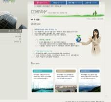 最新韩国原版网页模板16图片