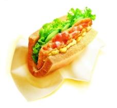 美味三明治图片
