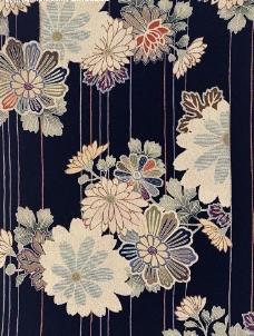 日式染印布纹cb026图片