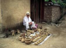 卖草鞋图片