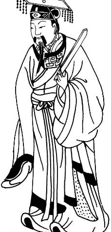 人像绘画--古代人物17图片