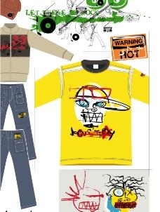矢量服装图案设计图片