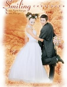 婚纱模板图片