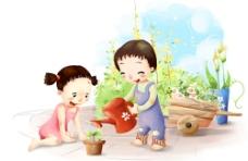 可爱小情侣8图片