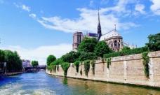 巴黎风光图片