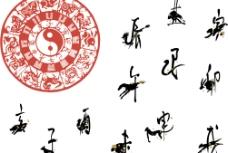 十二生肖象形字图片