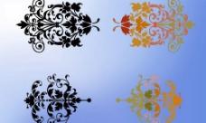 花纹 分层 字体 韩国 素材 设计 经典 漂亮 唯美图片