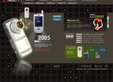 手机网站模板图片