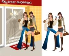 购物美女-2图片