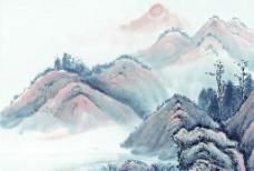 高清晰 山水水墨画 22图片