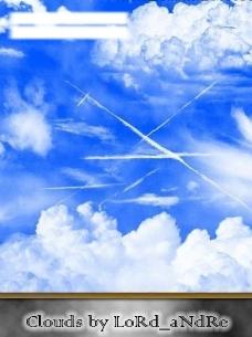 云彩笔刷图片