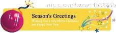 圣诞banner广告条矢量图图片