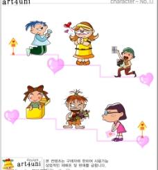 卡通人物素材图片