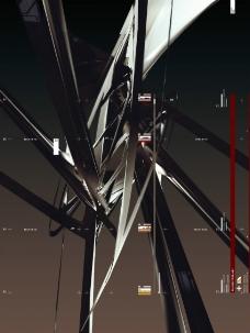 分层抽象图图片