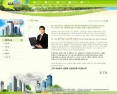 房产公司网站-韩国模板7-3PSD图片