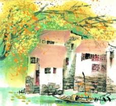 水彩画系列 - 夏图片