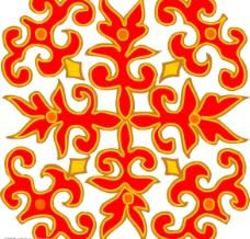 矢量 花紋圖案圖片