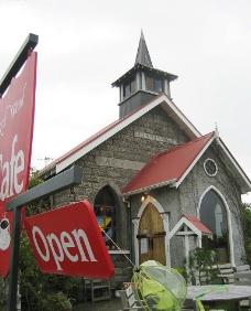 新西兰之旅-教堂咖啡厅图片