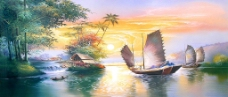 一帆风顺图片