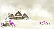 美丽的风景插画壁纸05图片