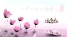 美丽的风景插画壁纸55图片