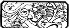 矢量古代图案图片