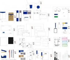 办公用品类 vi模版图片