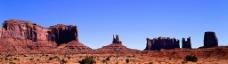 大漠 戈壁  蓝天  西北  边疆图片