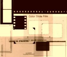 电影胶片笔刷
