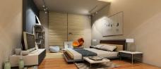 卧室模型图片