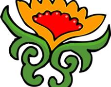 彩色花纹图案(312)图片