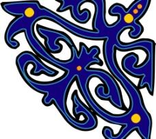 彩色花纹图案(308)图片