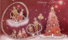 节日喜庆PS素材圣诞风景图片