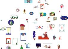 许多的圣诞素材图片