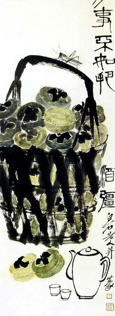 齐白石国画图片