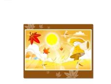 矢量秋季风景系列26图片