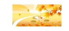 矢量秋季风景系列28图片