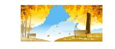 矢量秋季风景系列27图片