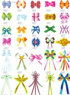 各种矢量蝴蝶结
