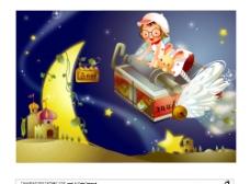 韩国 卡通 魔法世界图片