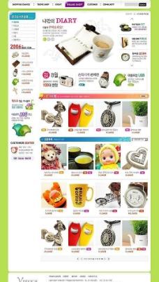 韩国商品模板图片