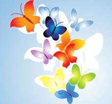 时尚矢量蝴蝶图案图片