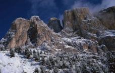 壮丽山景图片