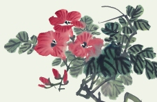 花果系列國畫003
