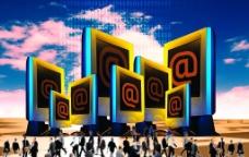 网际网络商业素材图片